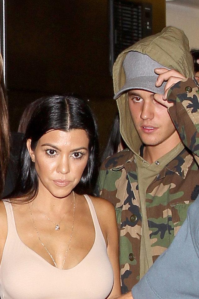Justin Bieber a répondu aux rumeurs sur Kourtney Kardashian