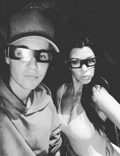 Justin Bieber et Kourntey Kardashian ne sont que des amis