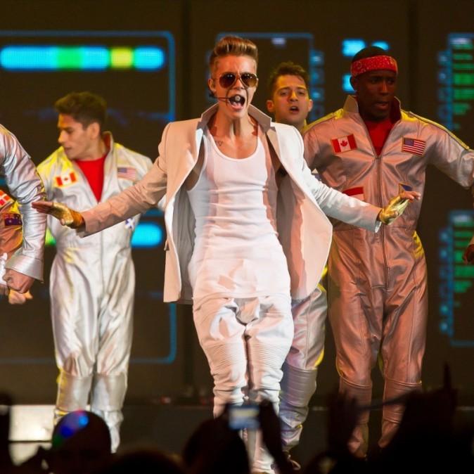 Justin Bieber le 21 février 2013 à Manchester