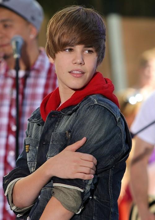 Justin il y a un an !
