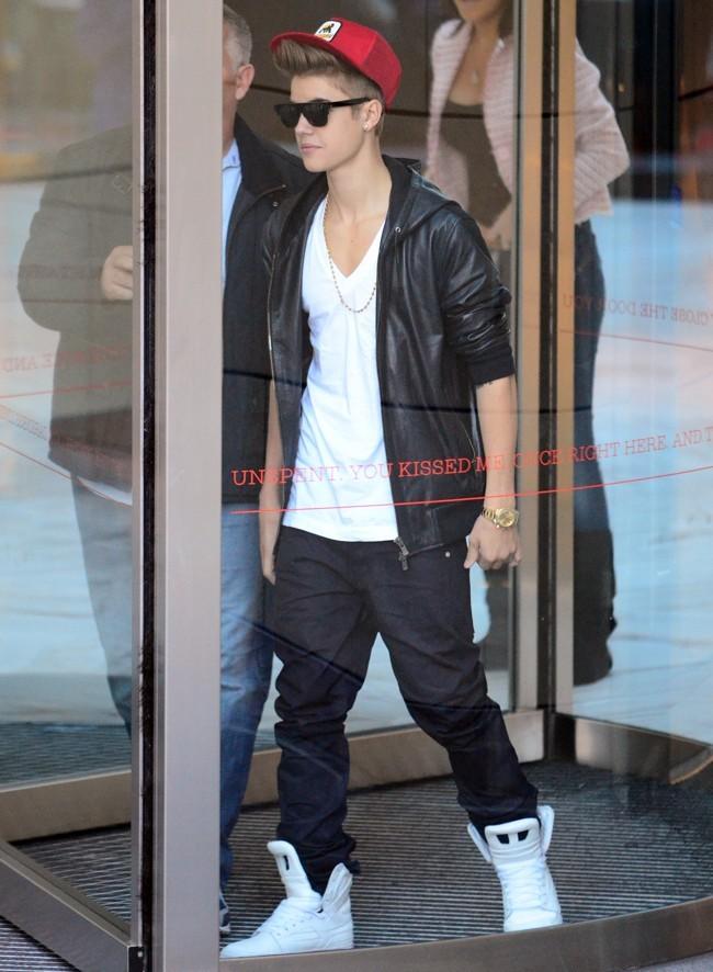 Justin Bieber à l'aéroport de Sidney, 18 juillet 2012