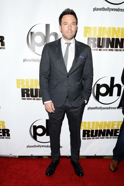 Ben Affleck lors de la première du film Players à Las Vegas, le 18 septembre 2013.