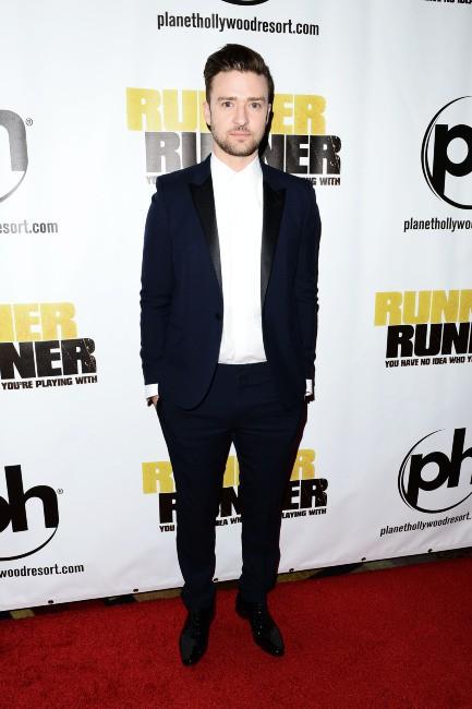 Justin Timberlake lors de la première du film Players à Las Vegas, le 18 septembre 2013.