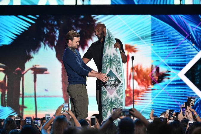 Justin Timberlake a fait un magnifique discours aux Teen Choice Awards
