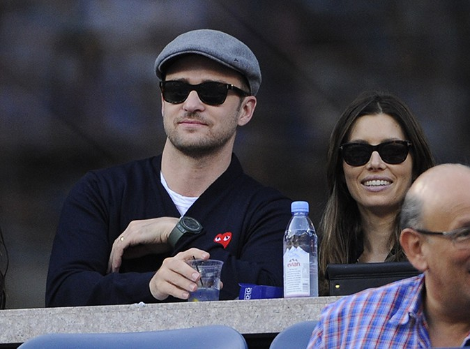 Justin Timberlake et Jessica Biel à New-York le 9 septembre 2013