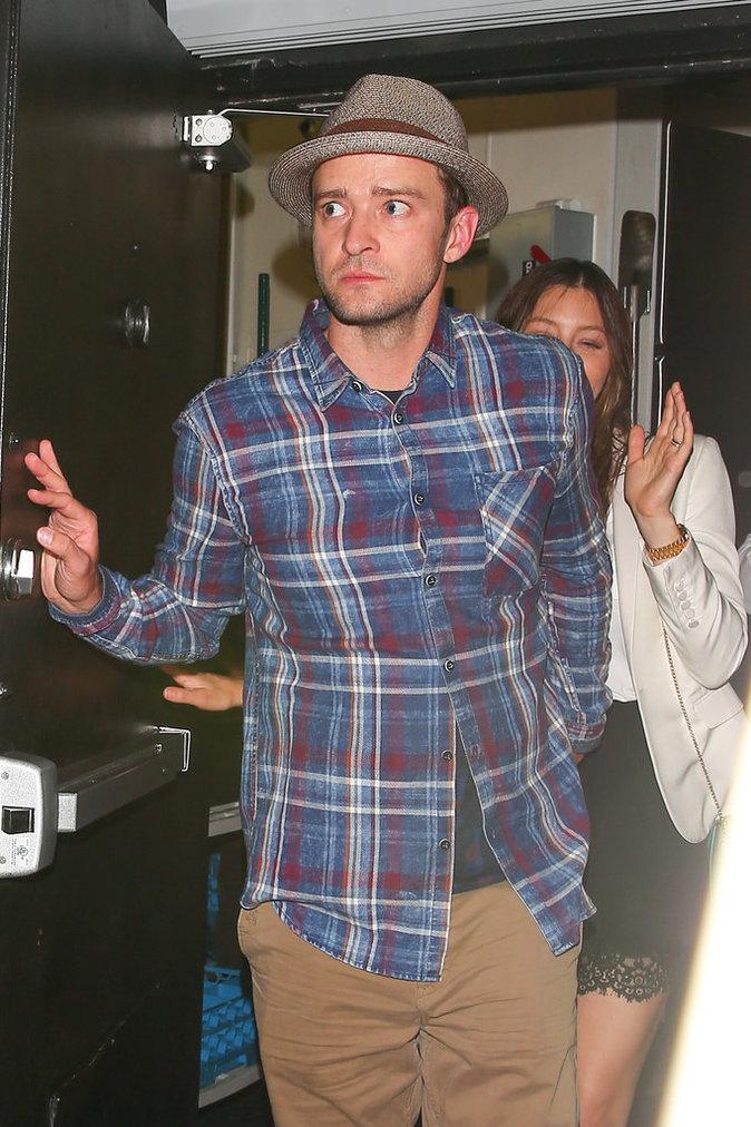 Photos : Justin Timberlake et Jessica Biel : trop dure la vie de star...