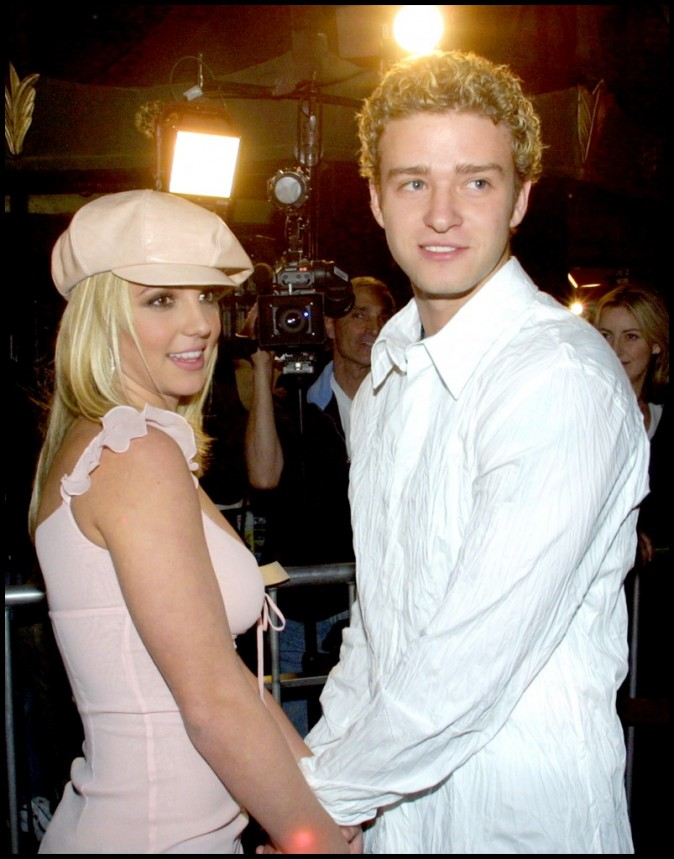 Justin Timberlake et son ancienne girlfriend, Britney Spears, en 2003 !