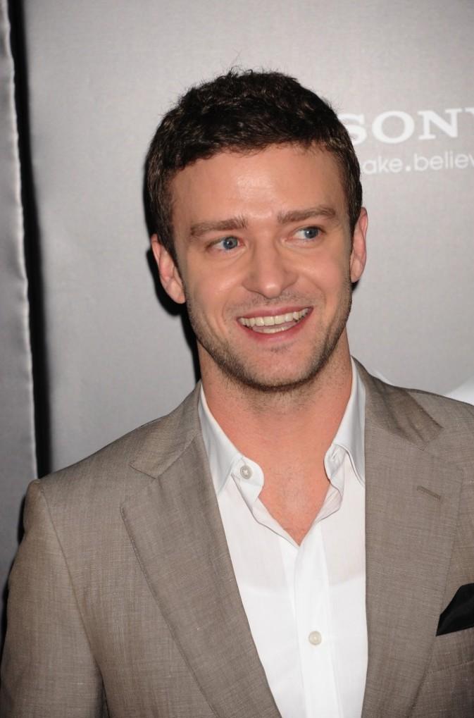 Justin Timberlake lors de la première de Friends With Benefits à New York, le 18 juillet 2011.