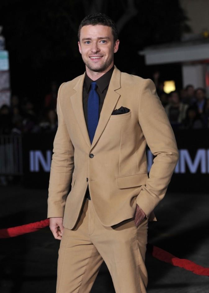 Justin Timberlakelors de la première de In Time à Westwood, le 20 octobre 2011.