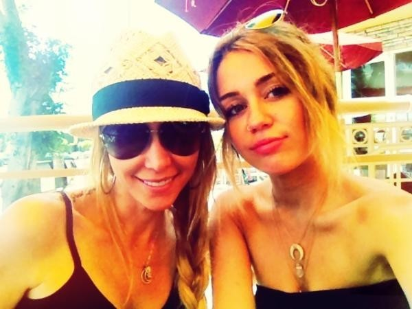 Miley Cyrus et maman Tish