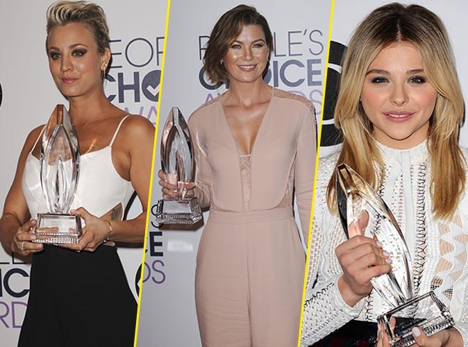 Kaley Cuoco, Ellen Pompeo, Chloe Moretz... Toutes sublimes et sacrées aux People's Choice Awards 2015 !