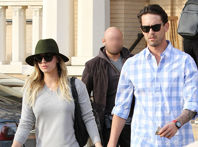 Kaley Cuoco et Ryan Sweeting à Los Angeles le 3 janvier 2014