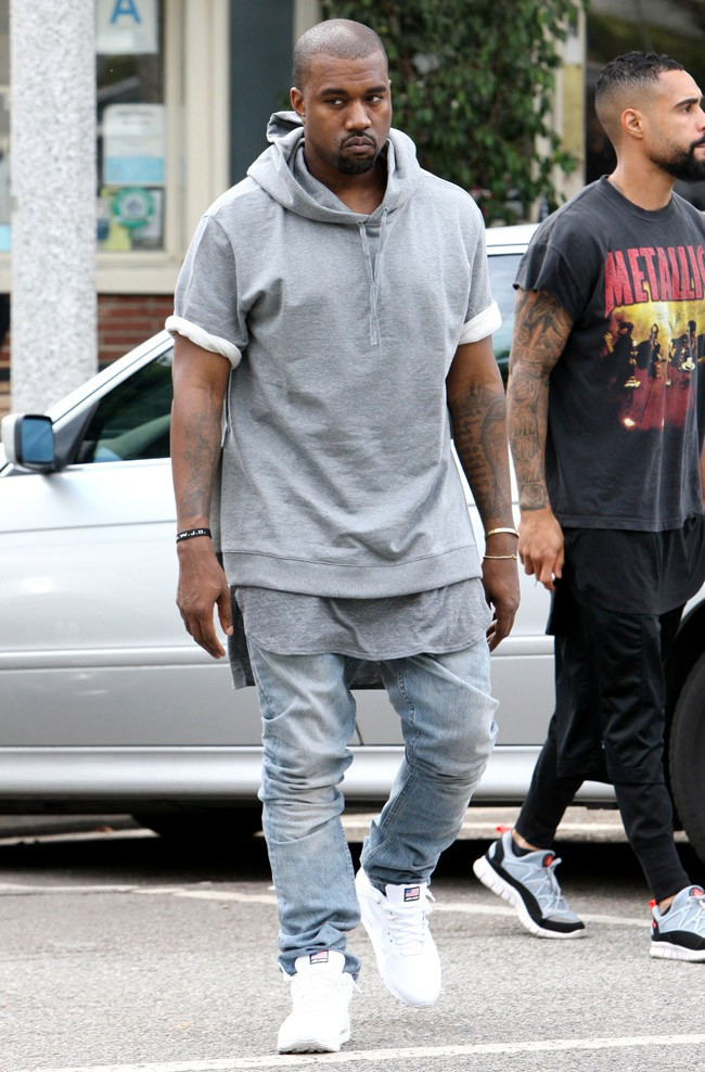 Kanye West à Los Angeles le 11 juillet 2013