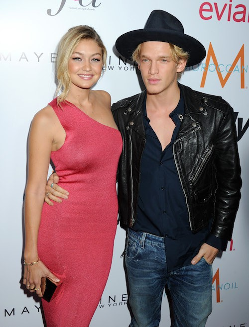 Gigi Hadid et Cody Simpson lors des Fashion Los Angeles Awards le 22 janvier 2015 !