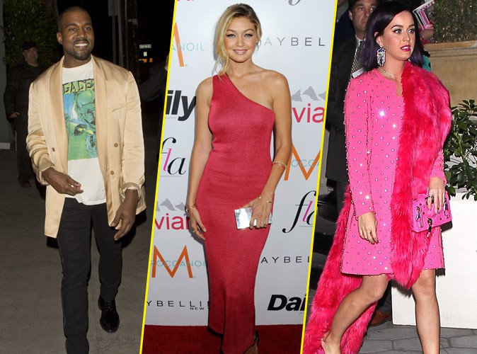Photos : Kanye West, Gigi Hadid, Katy Perry : invités de choc des Fashion Los Angeles Awards !