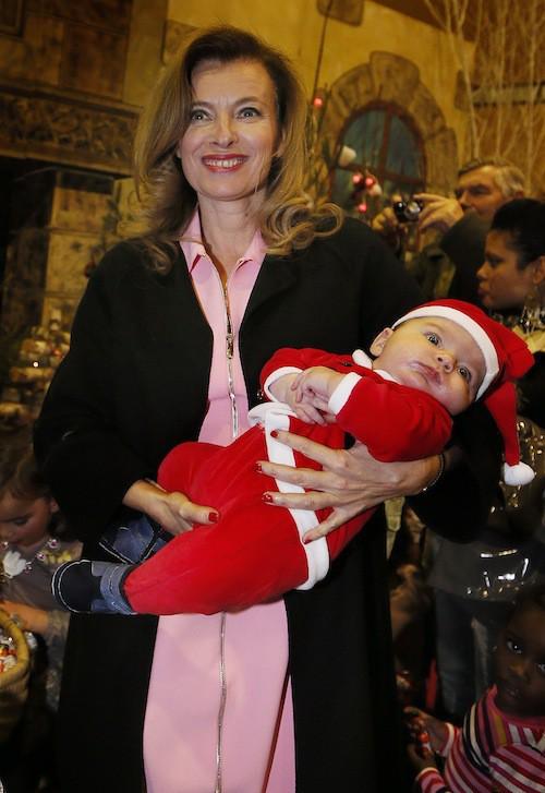 Valérie Trierweiler : les enfants d'abord !