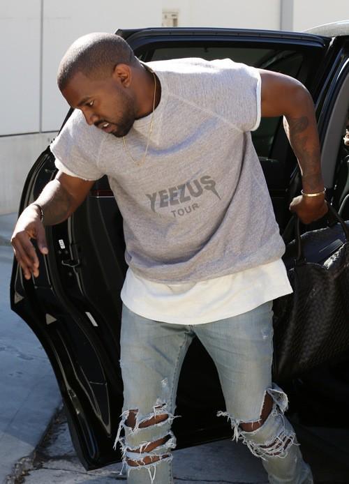 Photos : Kanye West : le bonheur ne semble pas être dans les fiançailles !