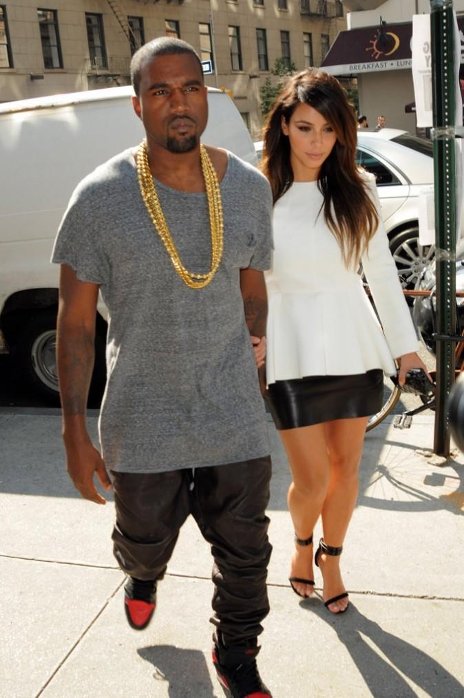Photos : Kanye West : sa Kim a l'air de lui faire un sacré effet !