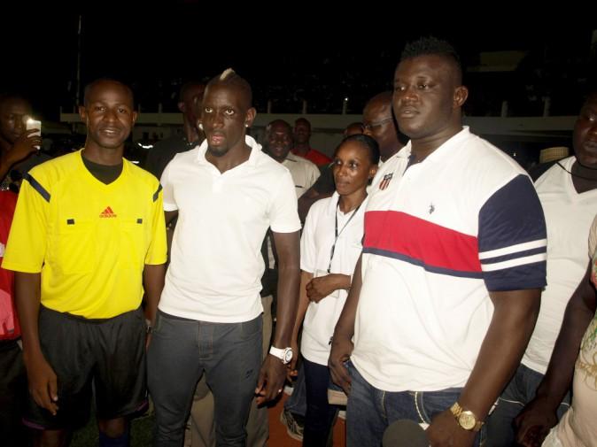 Mamadou Sakho au sénégal, le 23 juillet 2014