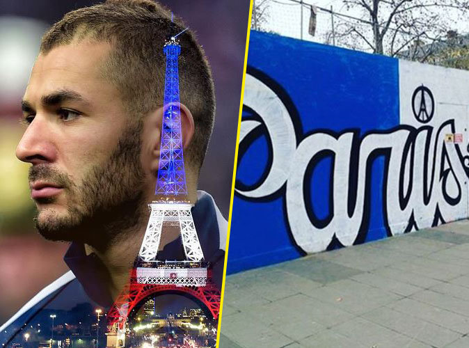 Karim Benzema, Jamel Debbouze, Baptiste Giabiconi... Les stars rendent hommage aux victimes des attentats !