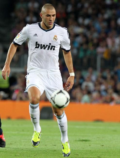 Karim Benzema, attaquant du Real Madrid : 13 millions d'euros