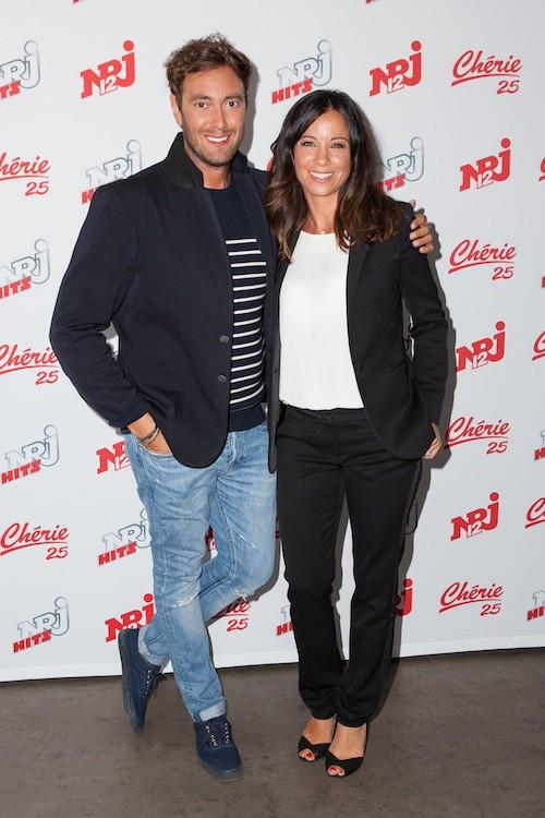 Adrien Rohard et Anne-Gaëlle Riccio chez NRJ 12, le 27 août 2015