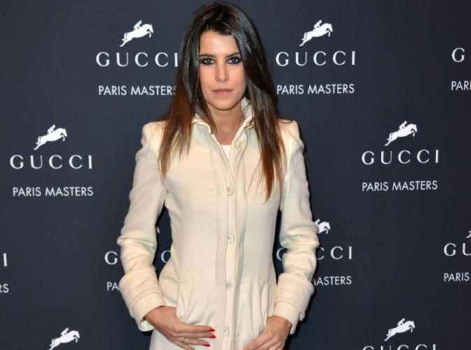 Karine Ferri : apparition élégante et remarquée au Gucci Paris Masters !