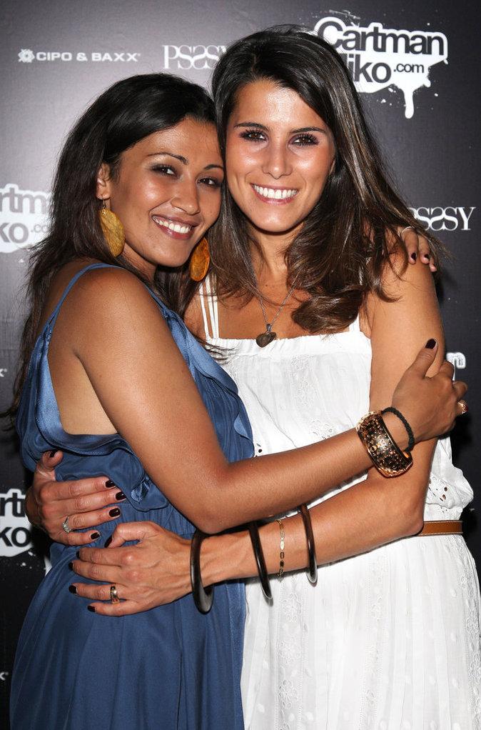 Karine Ferri et Karima Charni en 2009