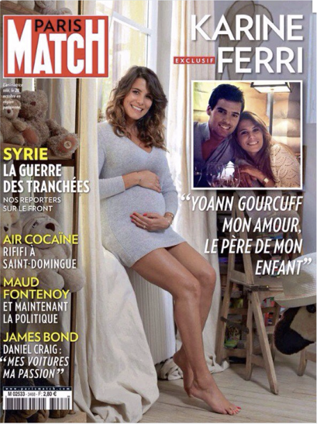 Photos : Karine Ferri : retour sur ses plus beaux looks de grossesse