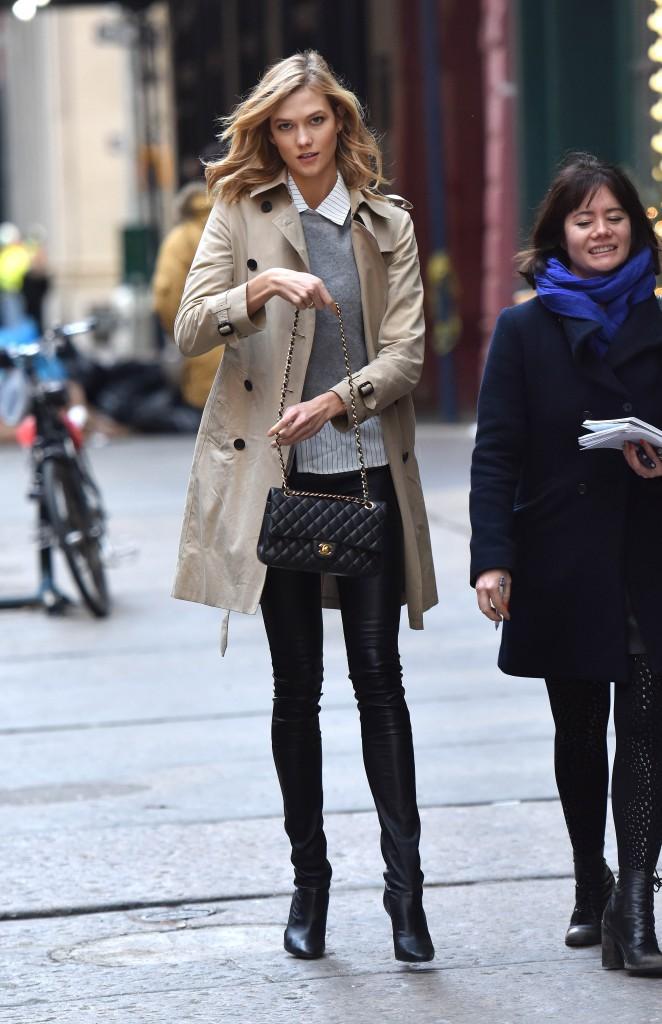 Karlie Kloss le 11 décembre 2014