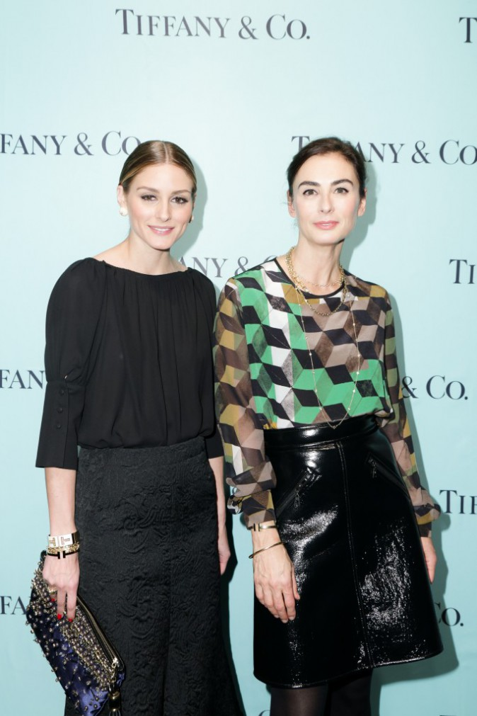 Olivia Palermo et Francesca Amfitheatrof le 6 novembre 2014