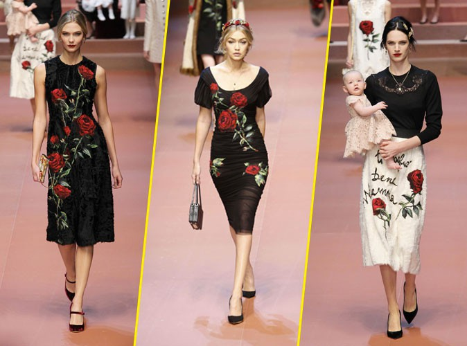 Photos : Karlie Kloss, Gigi Hadid, Ashleigh Good… Hommage aux mamans pour Dolce & Gabbana !