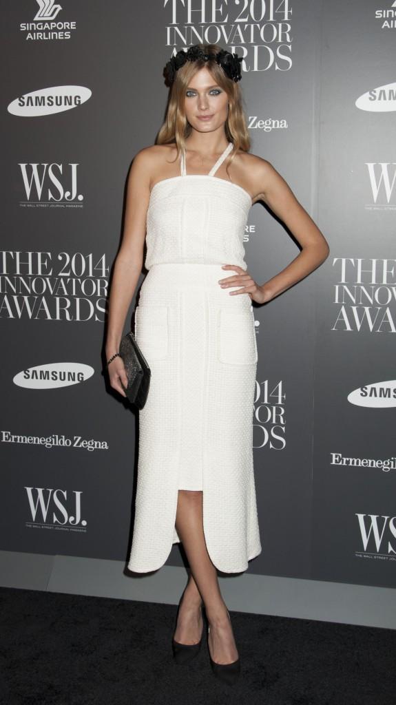 Constance Jablonski le 5 novembre 2014