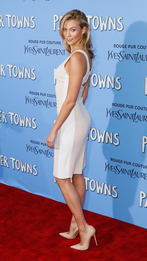Karlie Kloss à la première de Paper Town à New York, le 21 juillet 2015