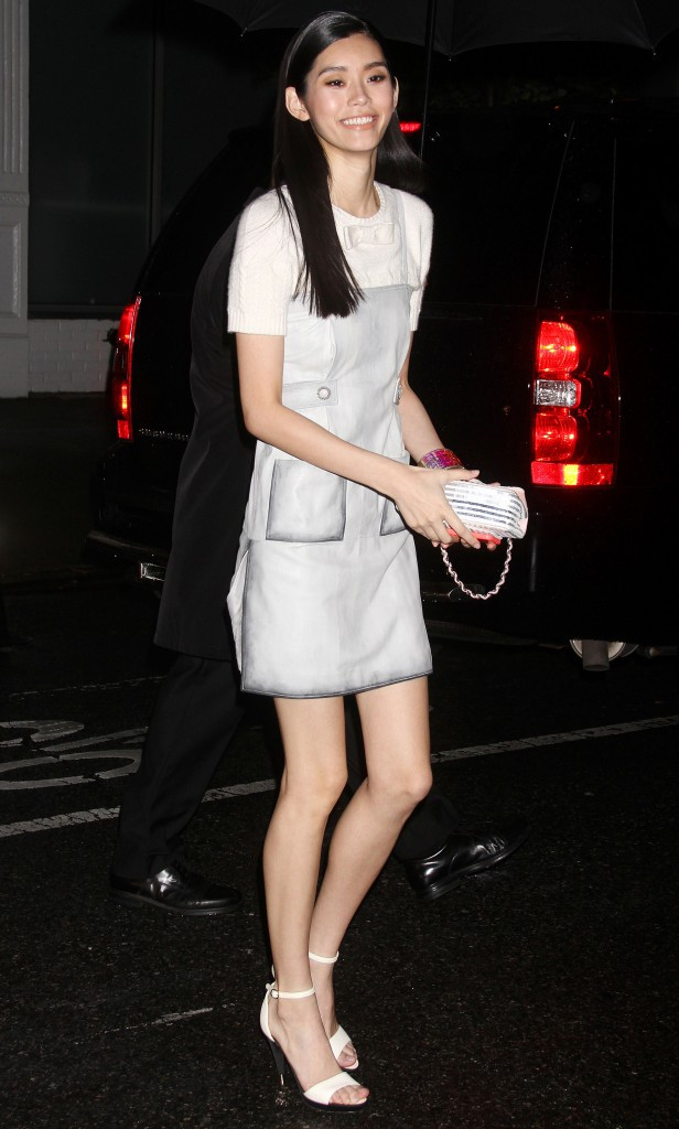 Ming Xi à New York le 13 octobre 2014