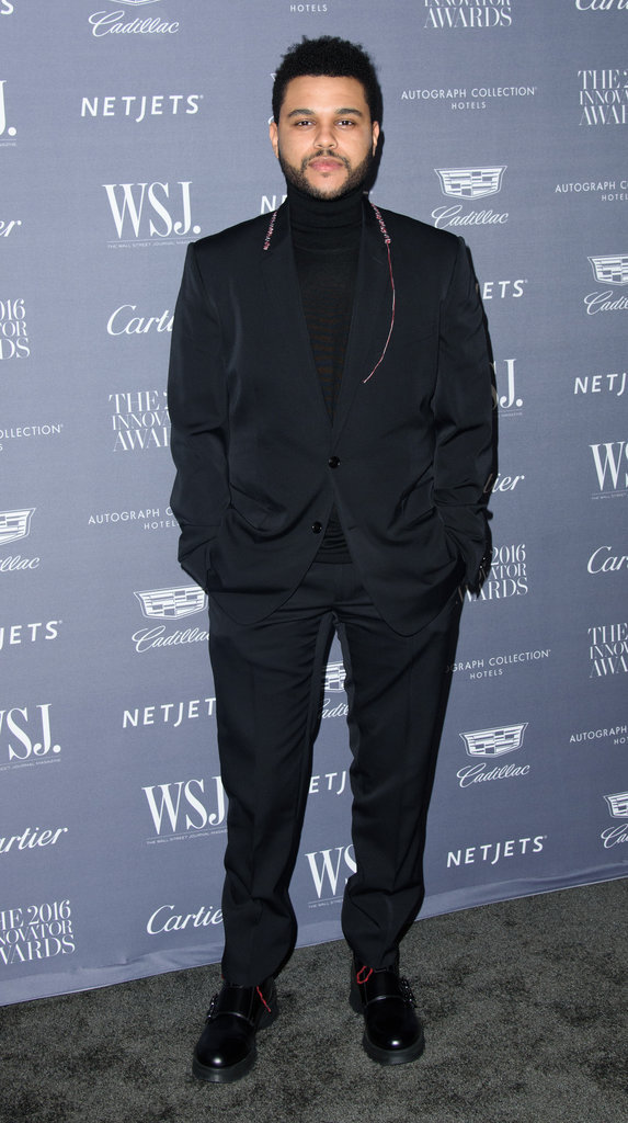 Photos : The Weeknd pour les Wall Street Journal Innovator Awards