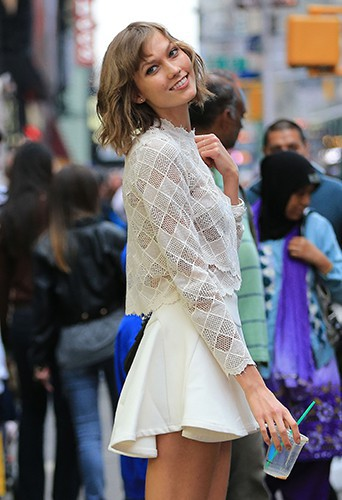 Karlie Kloss à New-York le 6 octobre 2013
