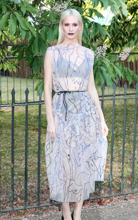 Poppy Delevingne le 2 juillet 2015