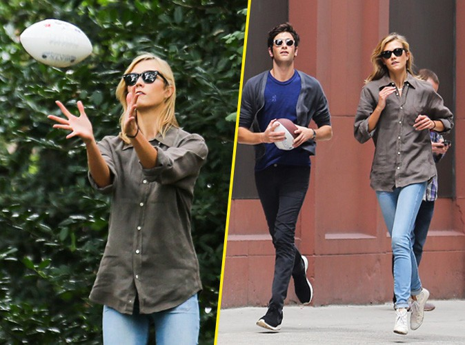 Karlie Kloss et Joshua Kushner à New York le 24 août 2014