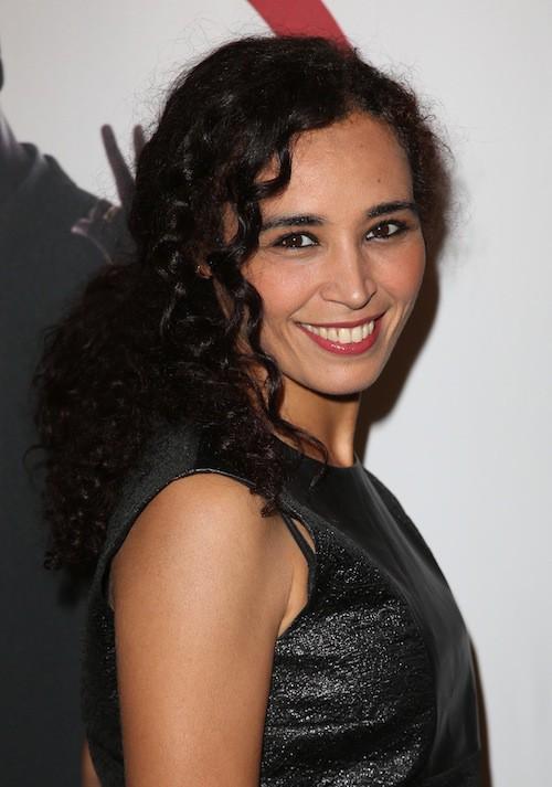 Aïda Touihri au spectacle de Thomas Ngijol à Paris le 27 octobre 2014