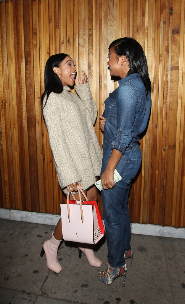 Karrueche Tran et Christina Millian avaient-elles prévu de s'embrasser devant les paparazzi ?