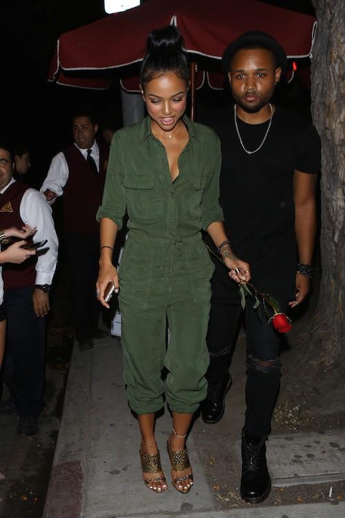 Photos : Karrueche Tran renoue avec son ex... Et ce n'est pas Chris Brown !