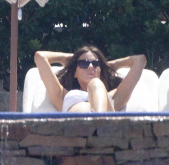 Kate Beckinsale à San Cabo le 22 août 2013