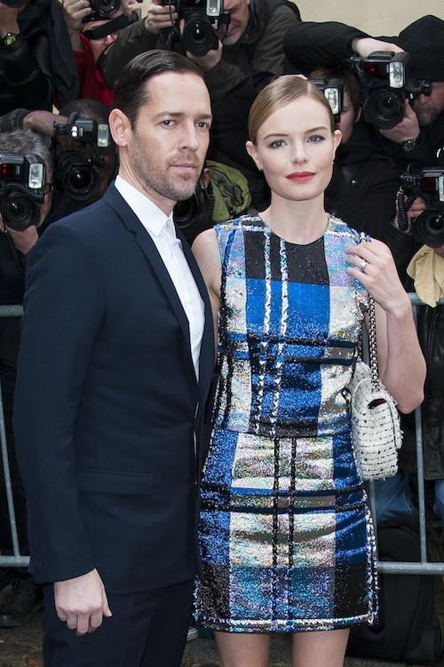 Photos : Kate Bosworth : une amoureuse très sage pour le défilé Dior !