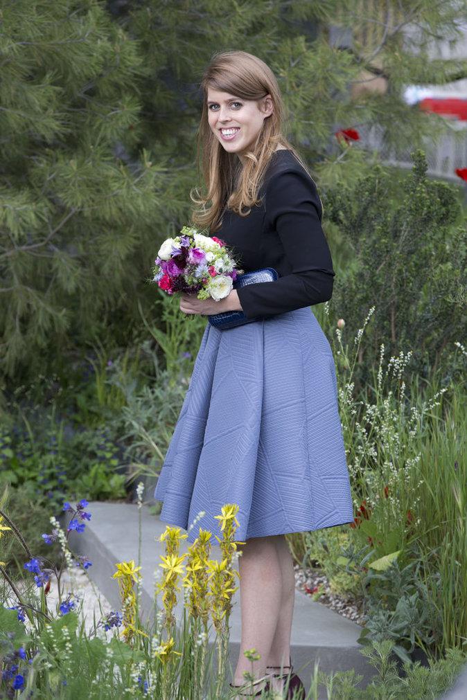 Photos : Béatrice D'York au Chelsea Flower Show