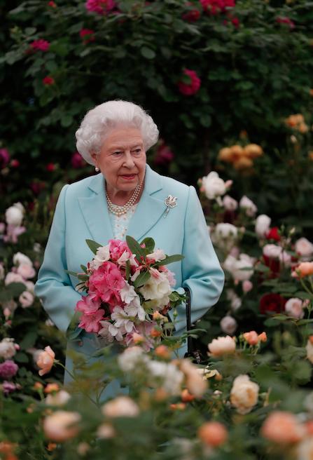 Photos : Elizabeth II au Chelsea Flower Show