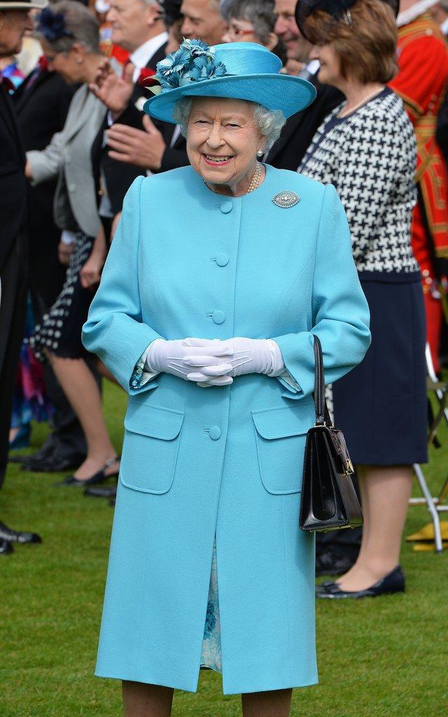 Photos : Elizabeth II à Buckingham