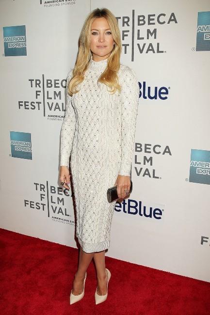 """Kate Hudson lors de la première du film """"Reluctant Fundamentalist"""" à New York, le 22 avril 2013."""