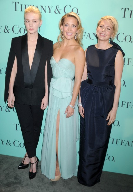 Carey Mulligan, Kate Hudson et Michelle Williams lors du gala Tiffany & Co. Blue Book Ball à New York, le 18 avril 2013.
