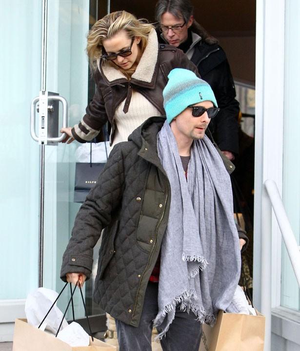 Kate Hudson et Matthew Bellamy le 24 décembre à Aspen !